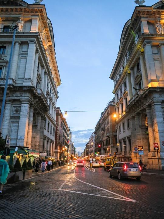 Via Nazionale Rome